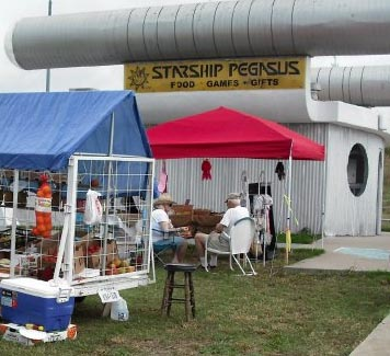 starship pegasus flea market june2010