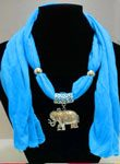 image of y weng scarf necklace