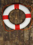 image of a lifesaver for insurance purposes