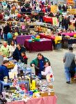 image of shoppers at rummage-a-rama