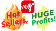 My Sales, Hot Sellers - Huge Profits