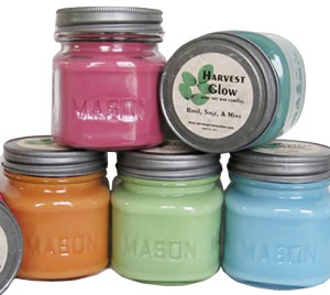 Mason Jar Soy Candles