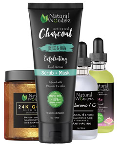 Natural Wunderz beauty care products