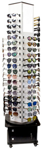 Fashion Sunglasses Floor Display