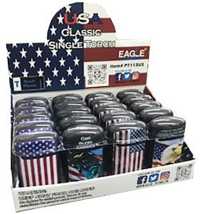 USA Classic Single Torch Lighters