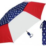 USA American Flag Print Mini Umbrella