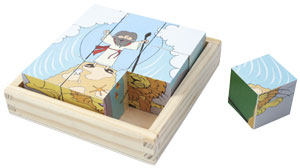 Puzzle Bible History Wooden Blocks
