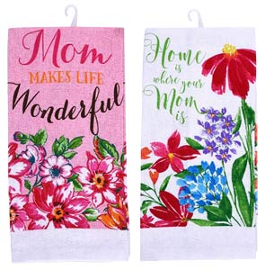 Mother's Day Design Kitchen Towels